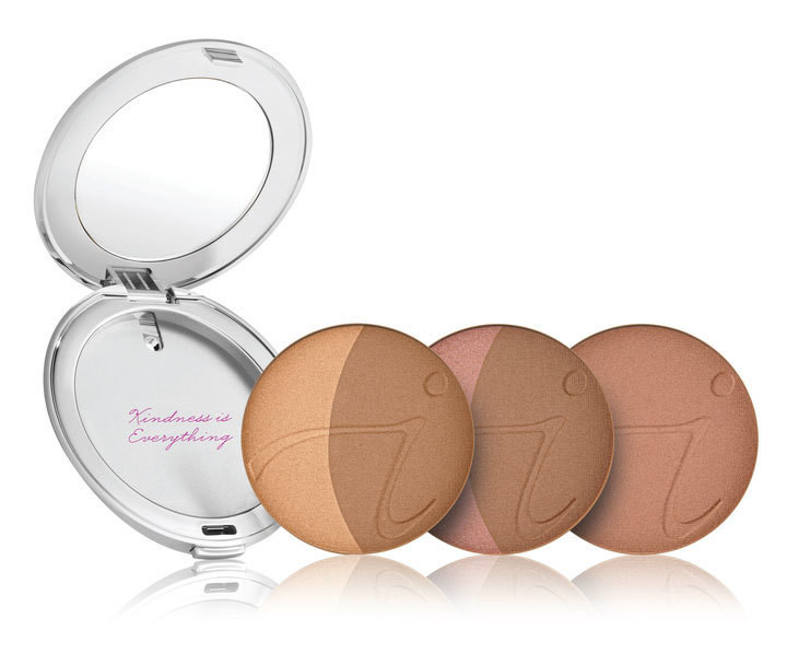 So-Bronze Bronzing Powder with Silver Compact
