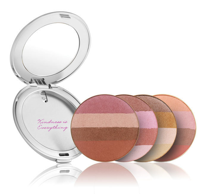 Quad Bronzer with Silver Compact