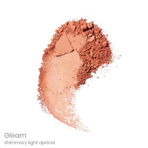 Gleam – shimmery light apricot