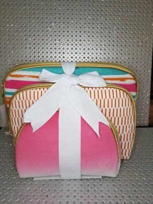 Cosmetic Bags (set of 3)