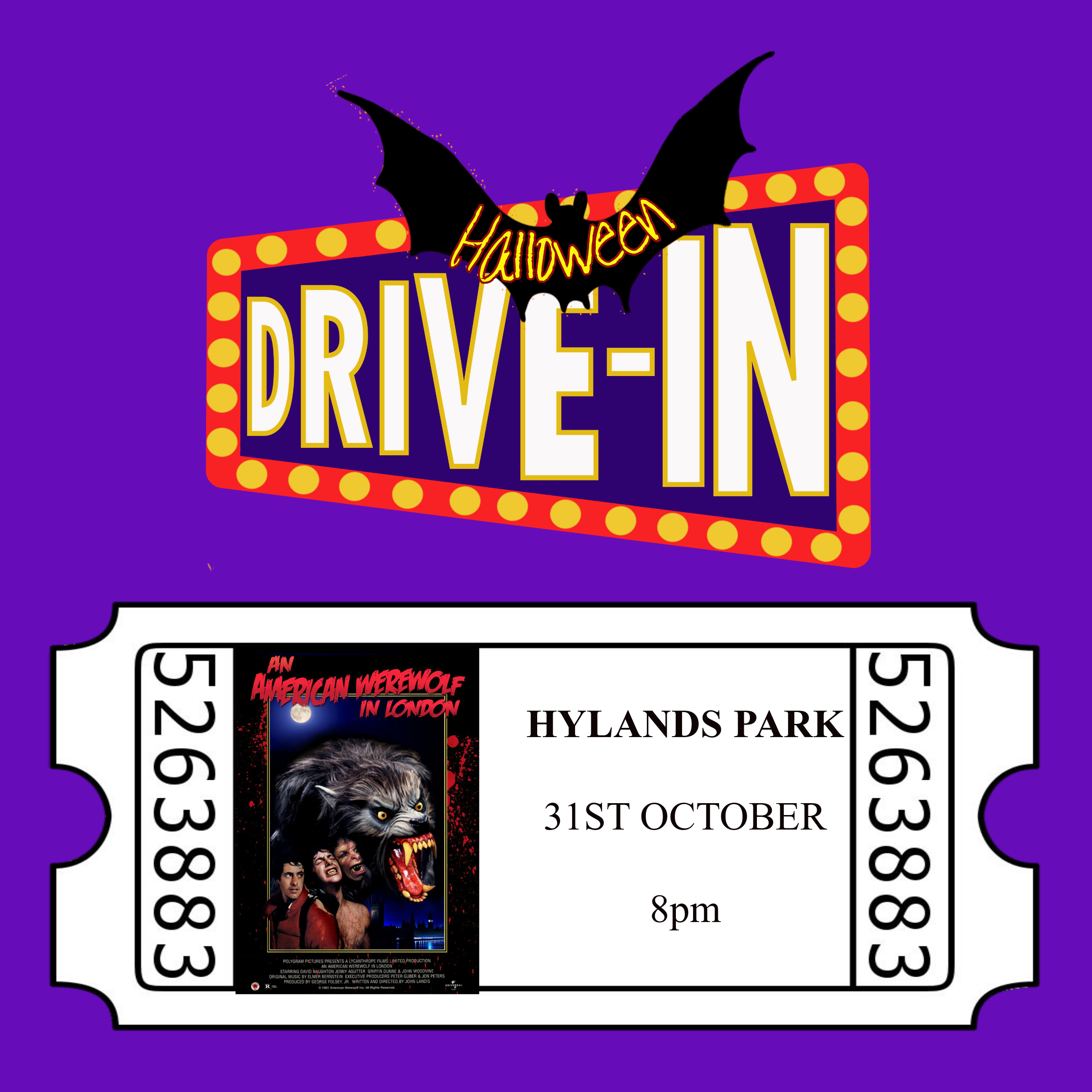 Halloween Drive-In, An American Werewolf in London 00274