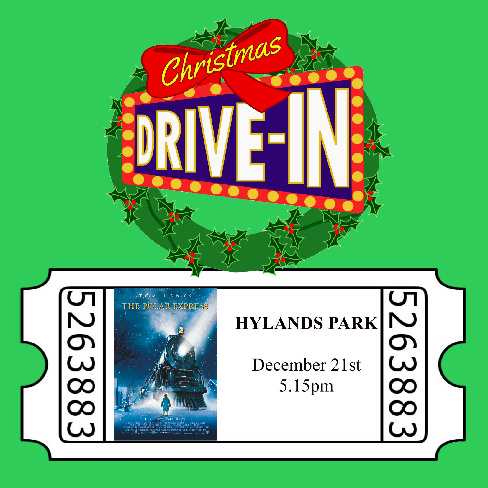 Christmas Drive-In, The Polar Express 00278