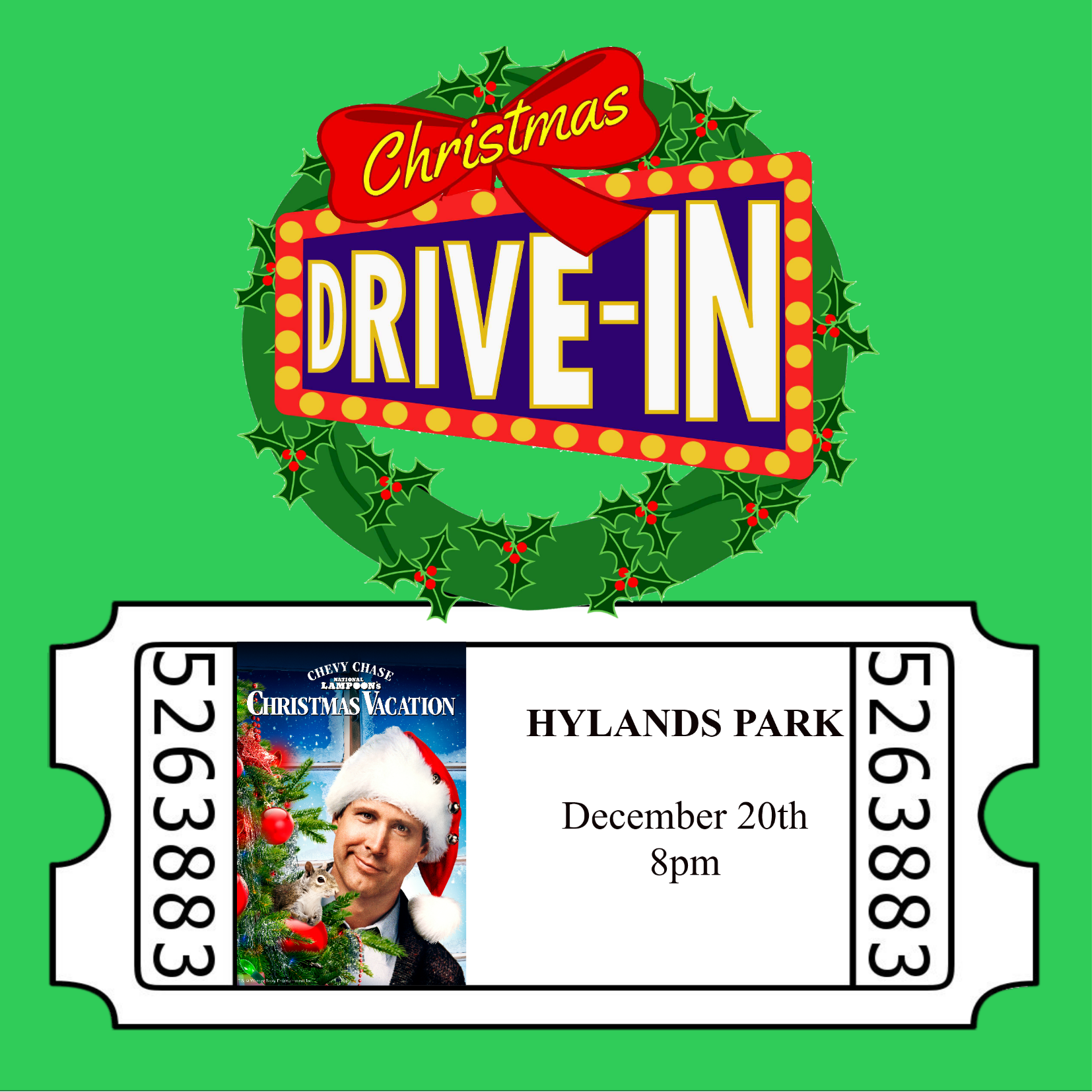 Christmas Drive-In, National Lampoons Christmas Vacation 00281