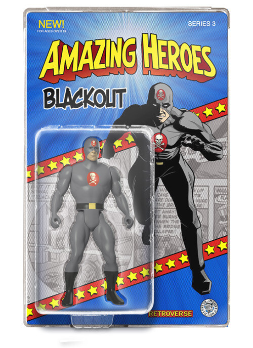 Blackout Amazing Heroes Action Figure - Only 100 pcs