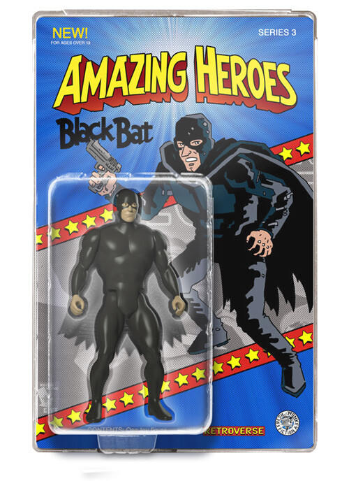 Black Bat Amazing Heroes Action Figure - Only 100 pcs