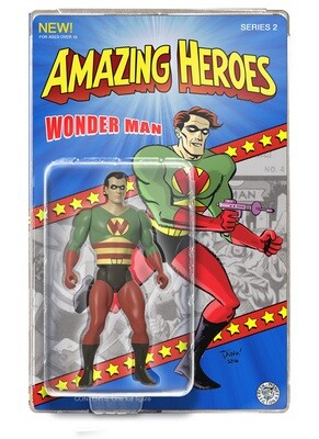 Wonderman Amazing Heroes Action Figure - Only 100 pcs