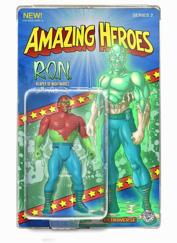 R.O.N. (Glow in the Dark) Amazing Heroes Action Figure - Only 100 pcs