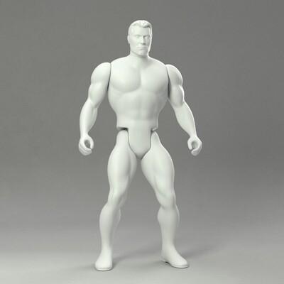 The Blank Slate Amazing Heroes Action Figure