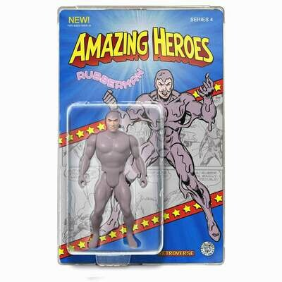 Rubberman Amazing Heroes Action Figure - Only 100 pcs