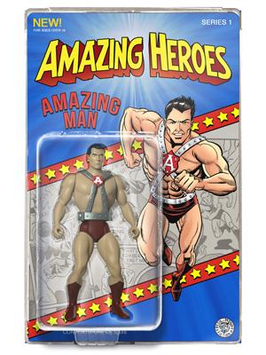 Classic Amazing Man Amazing Heroes Action Figure