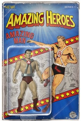 Classic Amazing Man Amazing Heroes Limited Edition Golden Age Action Figure  (40 pcs)
