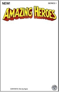 Amazing Heroes White Sketch Card Backer