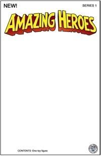 Amazing Heroes White Sketch Card Backer