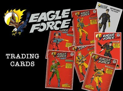 Eagle Force Trading Cards - Eagle Force ' 81