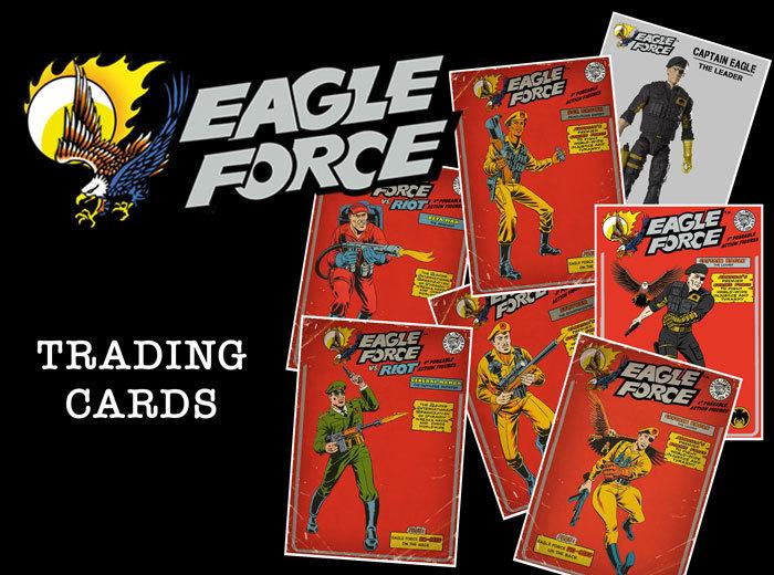 Eagle Force Trading Cards - Eagle Force ' 81
