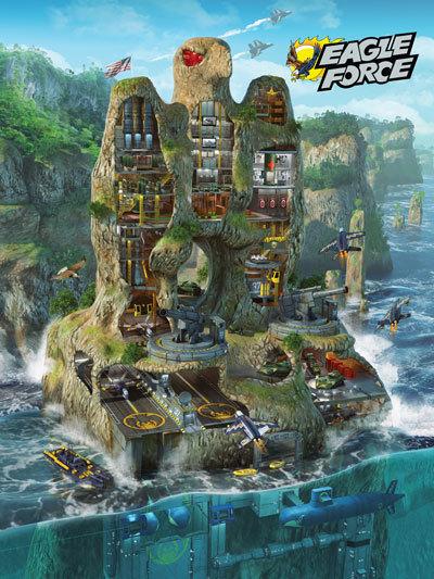 Eagle Force Poster - Eagle Island Standard Edition