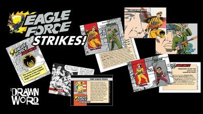 "Eagle Force Trading Cards - ""Eagle Force Strikes"""