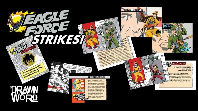 Eagle Force Trading Cards -