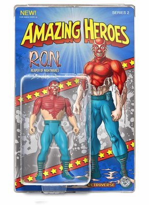 R.O.N.  Amazing Heroes Action Figure - Only 100 pcs