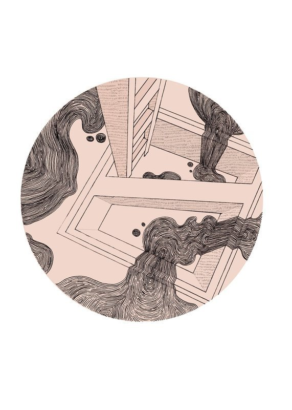 Staircase   A3 Print