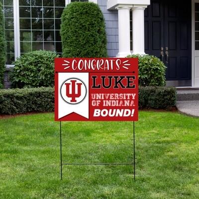 College Bound Yard Sign
