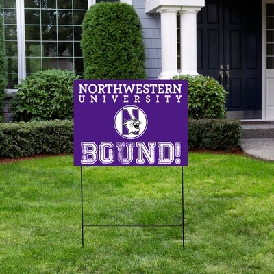 College  Bound Yard Sign