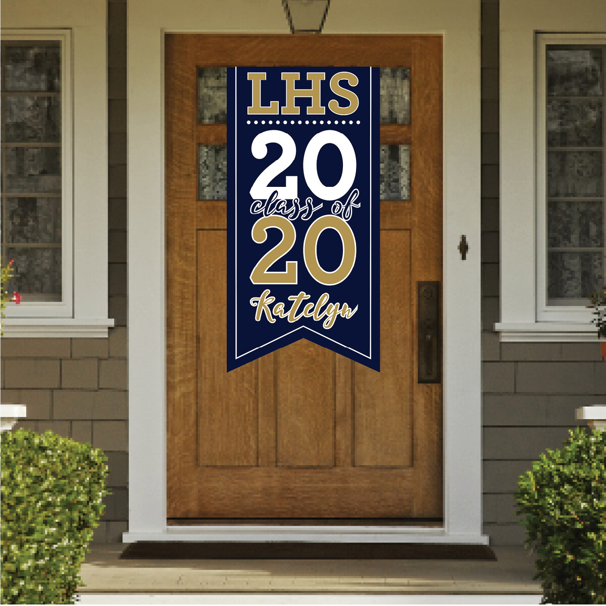 HANGING GRAD BANNERS-4 SIZES AVAILABLE