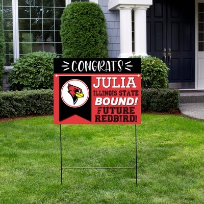 College Bound Yard Sign-ANY SCHOOL-ANY COLOR