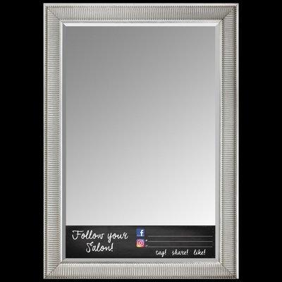 SALON OR STYLIST SOCIAL MEDIA MIRROR CLING-FULL LENGTH-24x7