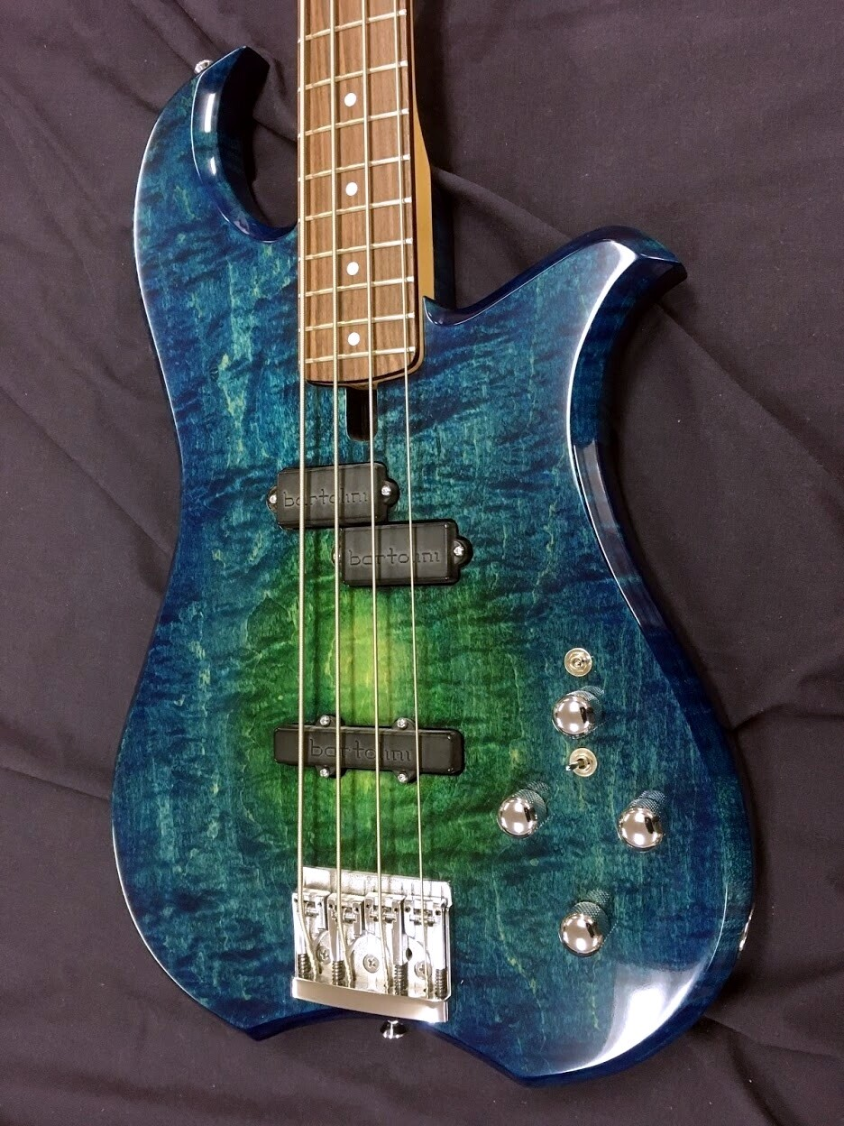 Blue Note Woodworks Custom Elecktra-Dove Bass #913