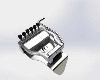 Hipshot Doubleshot Tuning Tailpiece #HP1106R