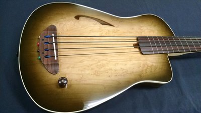 Blue Note Woodworks Acoustic Bass Guitar #412