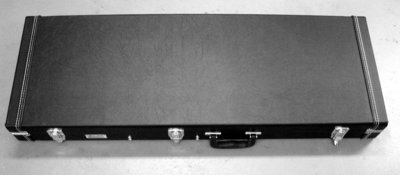 Plush Hard Shell Case - BNW Guitar & Short Scale Bass