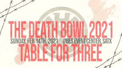 The Death Bowl - Table for 3