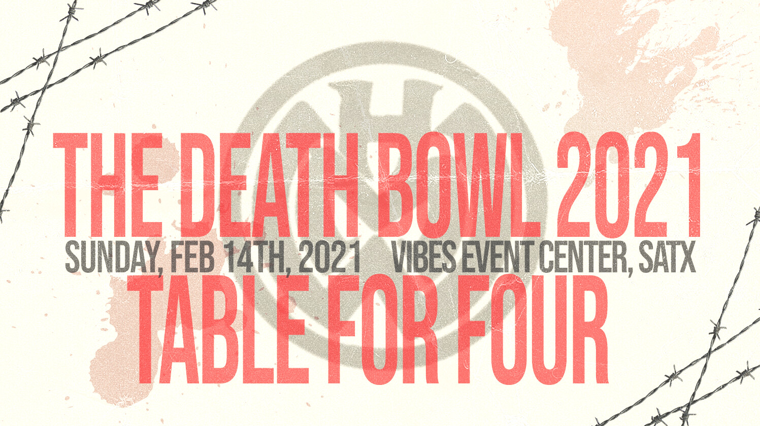 The Death Bowl - Table for 4