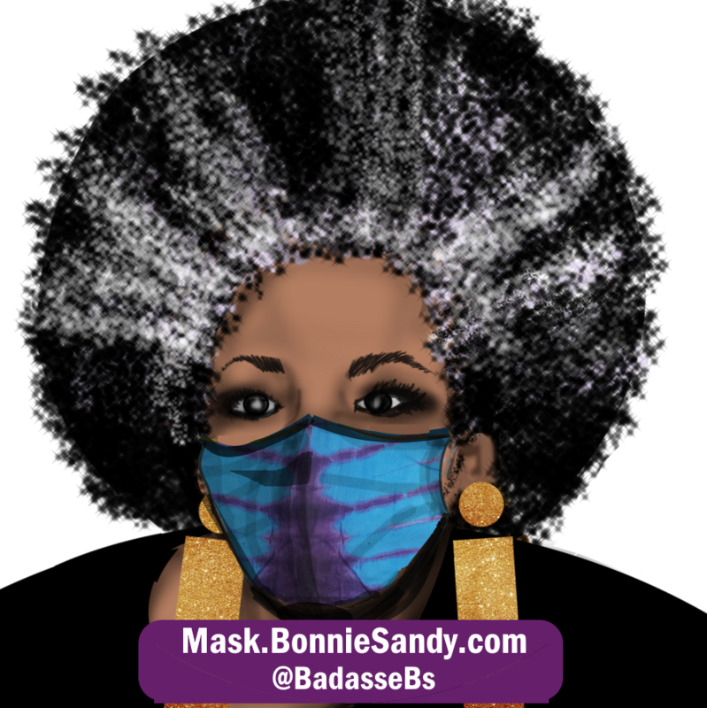NYC Blues Face Cover Mask