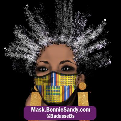 Afrique Royal Face Cover Mask
