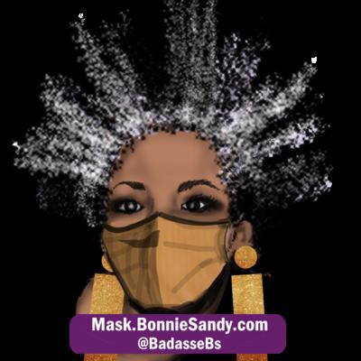 Caramel Face Cover Mask