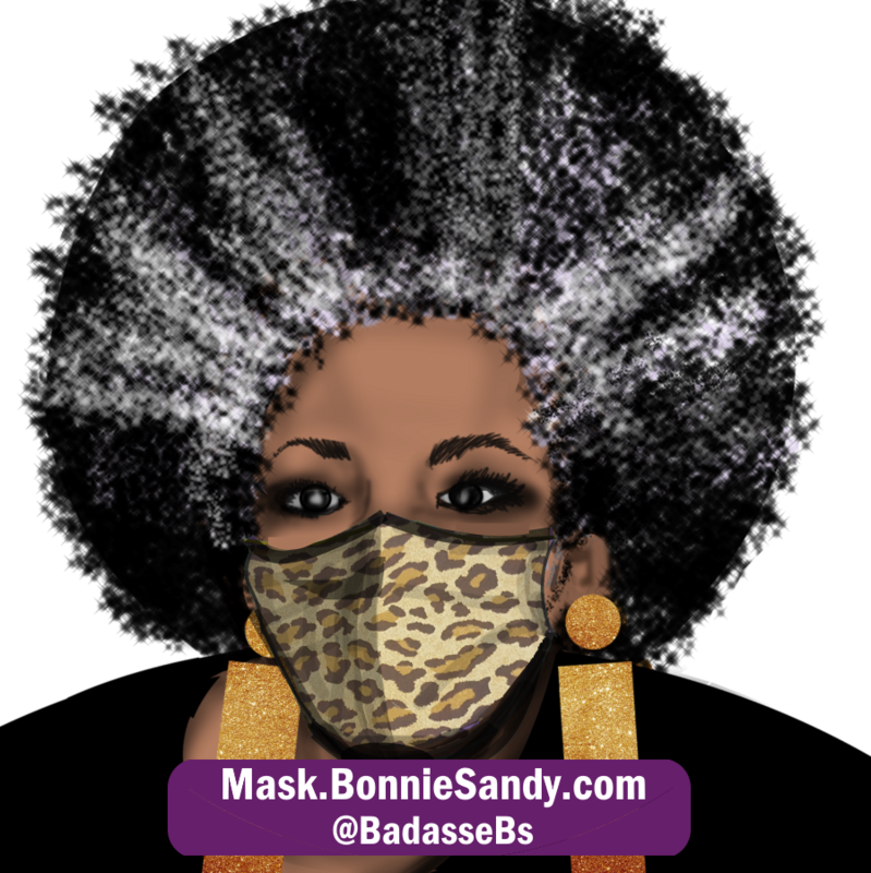 Leopard 2 Face Cover Mask