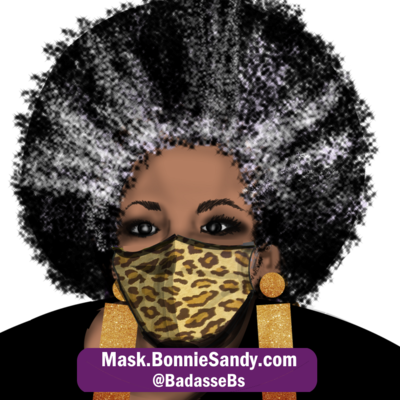 Leopard Face Cover Mask