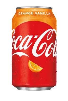 Orange Vanilla Coke  24/12 oz can