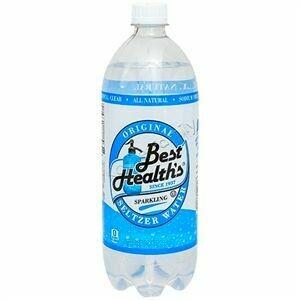 Best Health Original Seltzer 1 Liter - Case of 12