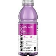 Glaceau Vitamin Water 20 oz - Zero Look (Blueberry Hibiscus) - Case of 24