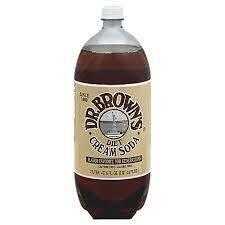 Dr. Browns Diet Cream Soda 2 Liter Case of 6