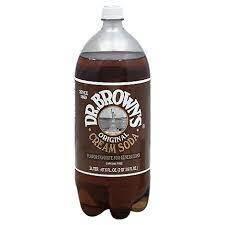 Dr. Browns Cream Soda 2 Liter Case of 6