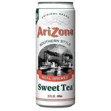 Arizona 23.5 oz Cans Sweet Tea - Case of 24