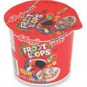 Cereal Cups Fruit Loops 6 pack