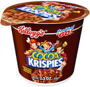 Cereal Cups Cocoa Krispies 6 pack