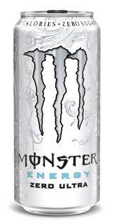 Monster Energy - Ultra White Zero 16 oz - Case of 24