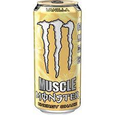 Monster Muscle Vanilla 15 oz - Case of 12